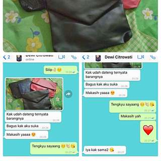 TESTI From Our Beloved Costumer