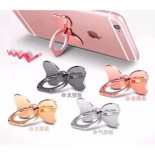 🎀Sis.Sis🎀超級卡哇伊✨全金屬電鍍蝴蝶結手機扣環✨