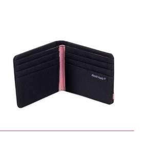 Herschel Roy Bi-Fold Wallet (Black)