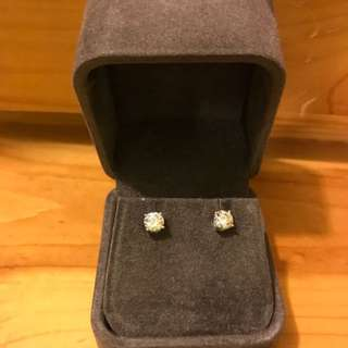 1ct Diamond Earring