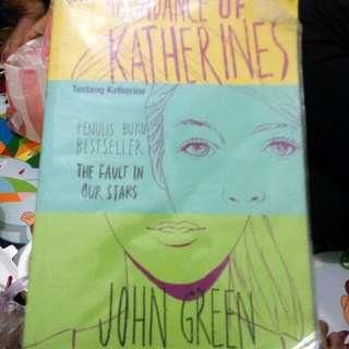Abundance Of Katherines John Green