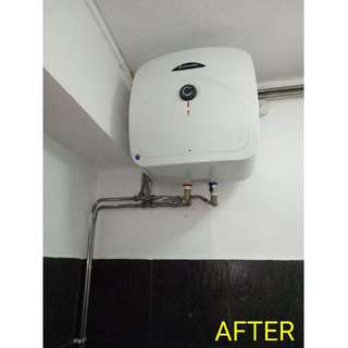 15L Ariston Water Heater Replacement