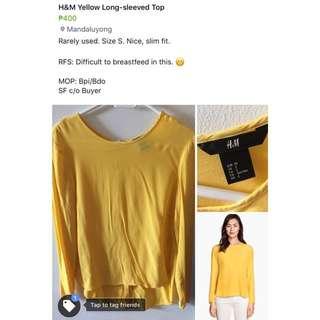 H&M Long-sleeved Top