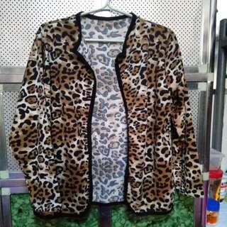 Leopard Print Cardigan
