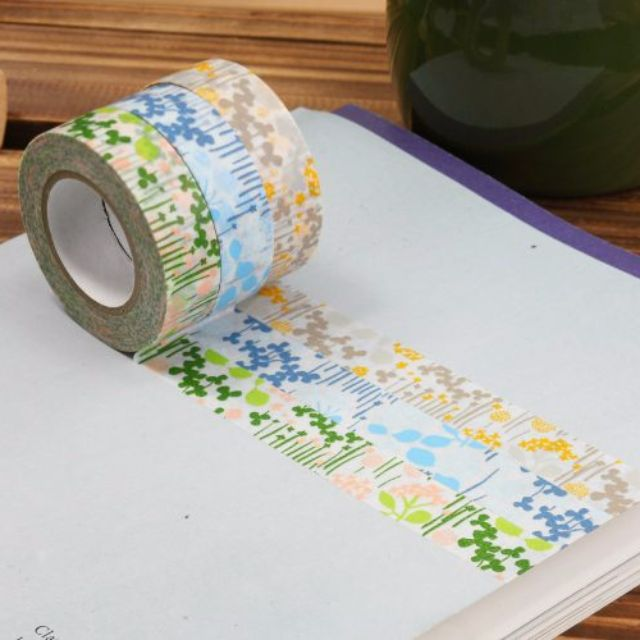 倉敷意匠 小小花園 紙膠帶 分裝