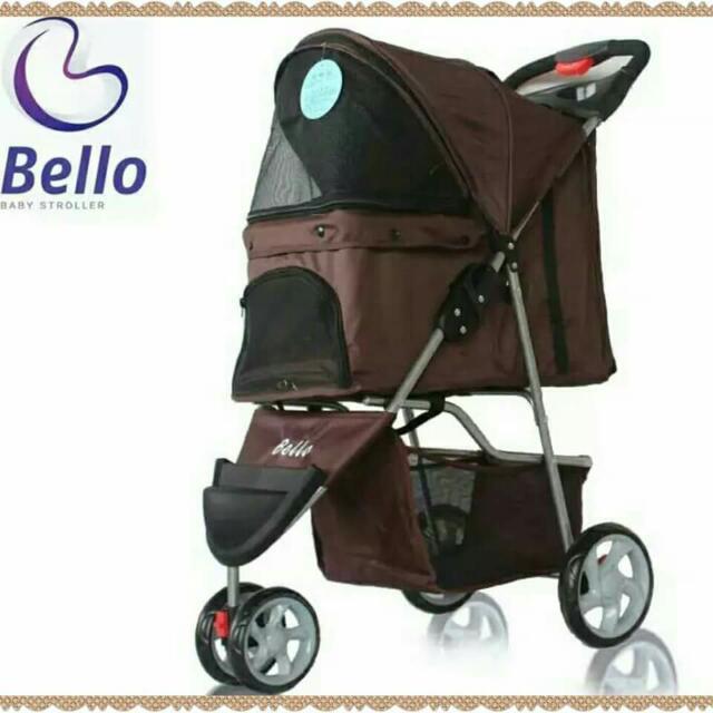 全新 Bello 寵物手推車  寵物車  寵物推車  寵物拉車  寵物用品