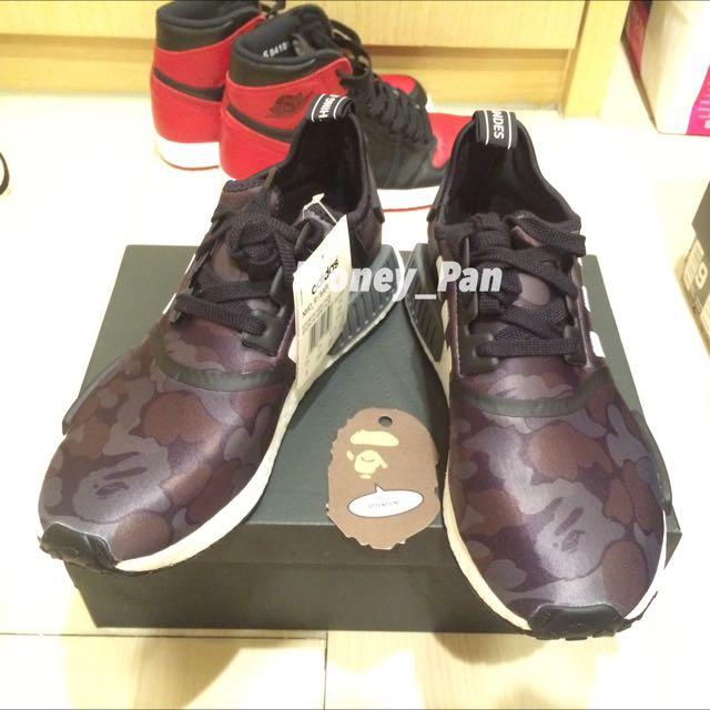 Adidas NMD R1 X Bape 黑