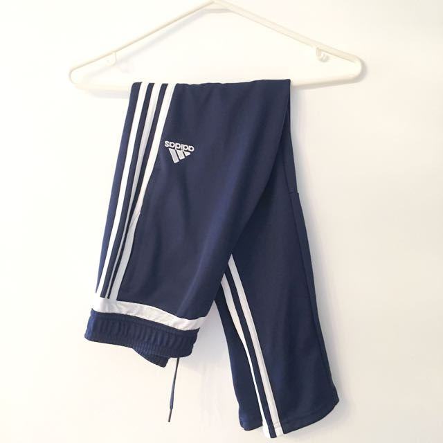 Adidas Tiro Track Pants In Blue