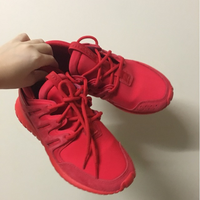 Adidas Tubular Nova - Red - US 4