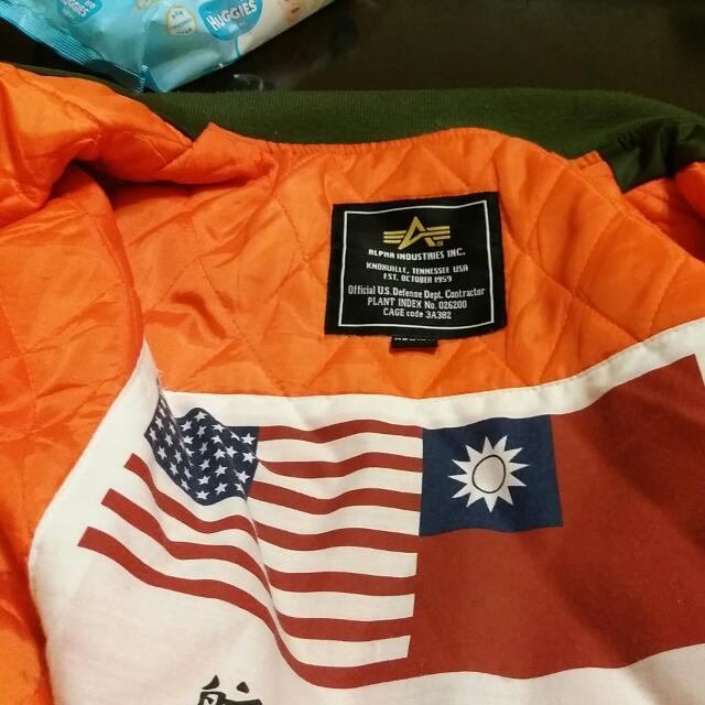 ALPHA Ma1 美國臺灣空軍外套