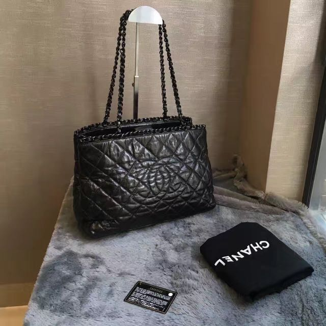 e9e10300c0766b Auth Chanel Chain Me Tote Limited Edition, Luxury, Bags & Wallets on  Carousell