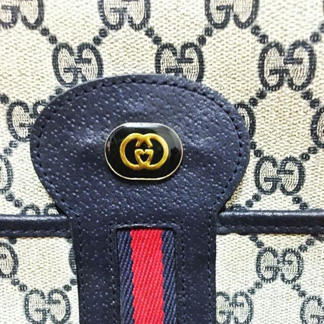 Authentic Gucci Classic Satchel Bag