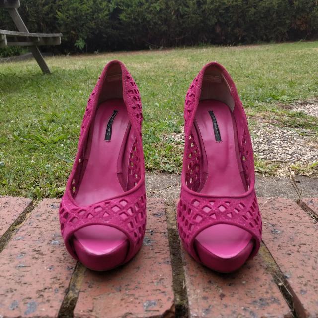 Azalea Pink Tony Bianco Heels