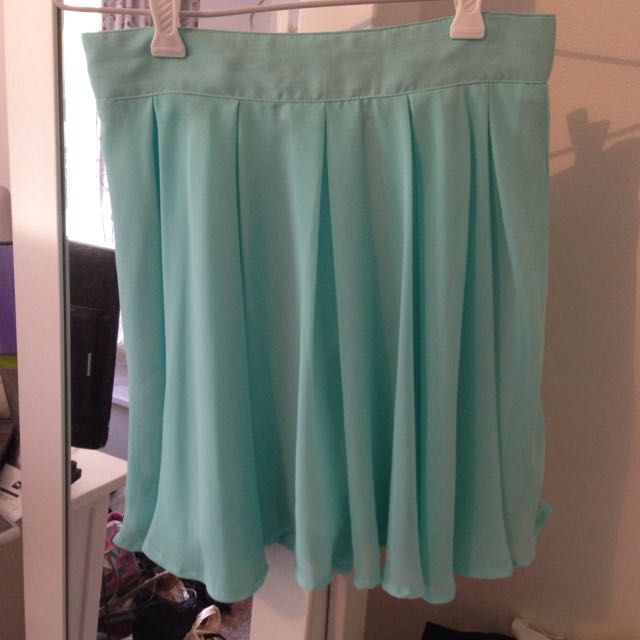 Blue Skirt From Supre Size XS