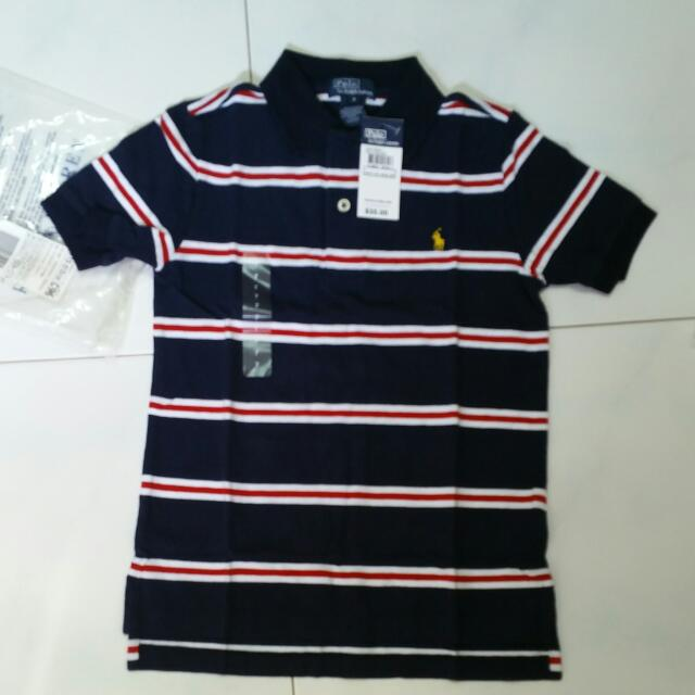 c1fcd83b5 BN Authentic Polo Ralph Lauren Boy Polo T-shirt, Babies & Kids, Boys'  Apparel on Carousell
