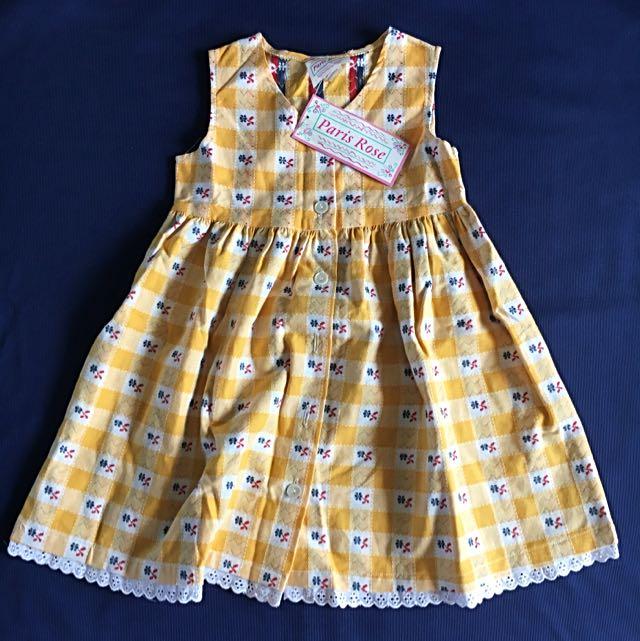 BNWT Girl's Vintage Dress