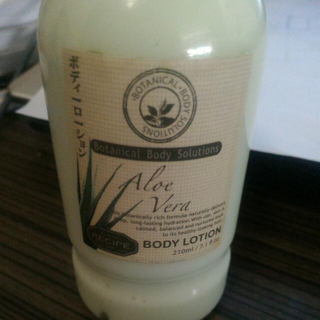 Body Lotion (Recipe).