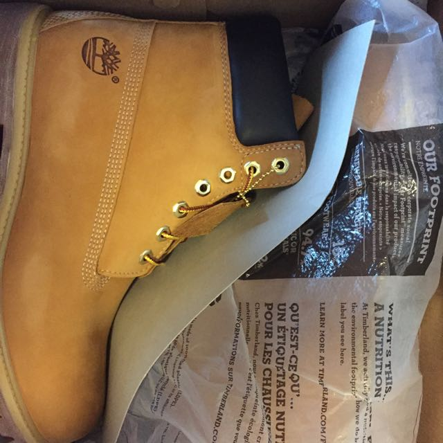 Brandnew Timberlands US10