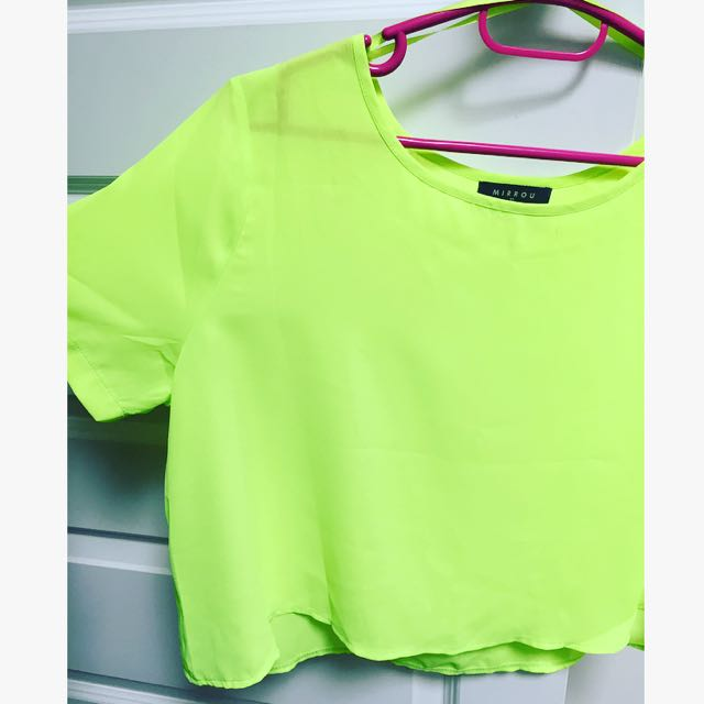 Bright Yellow Summer Top