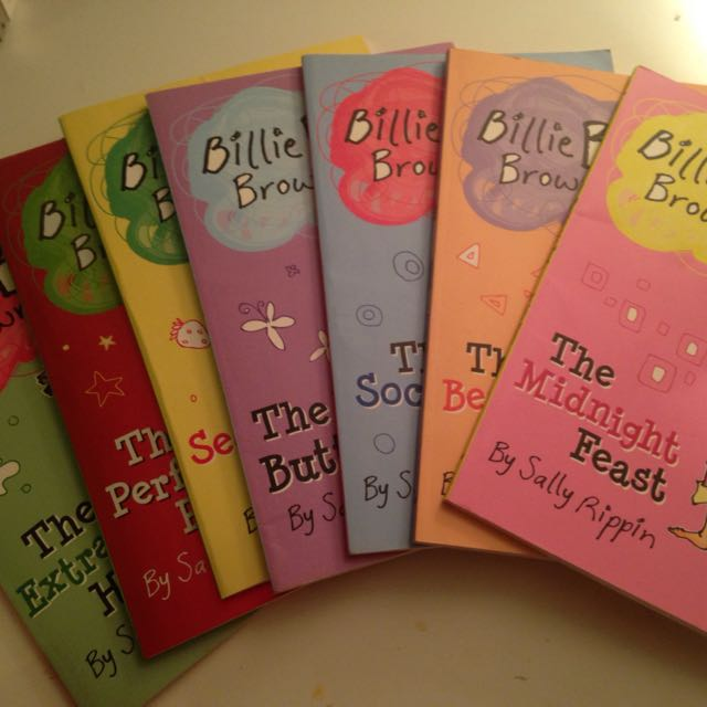 Bundle Of 7 Billie B Brown Books