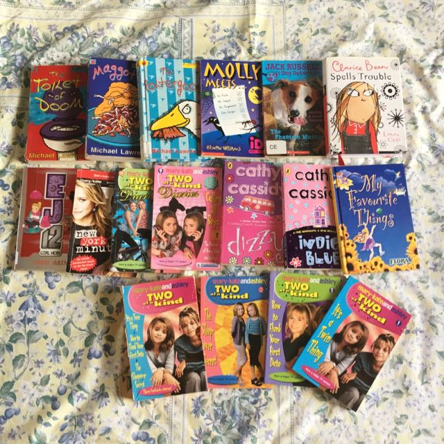 Bundle Of Pre-loved Books For Pre-teens REDUCED