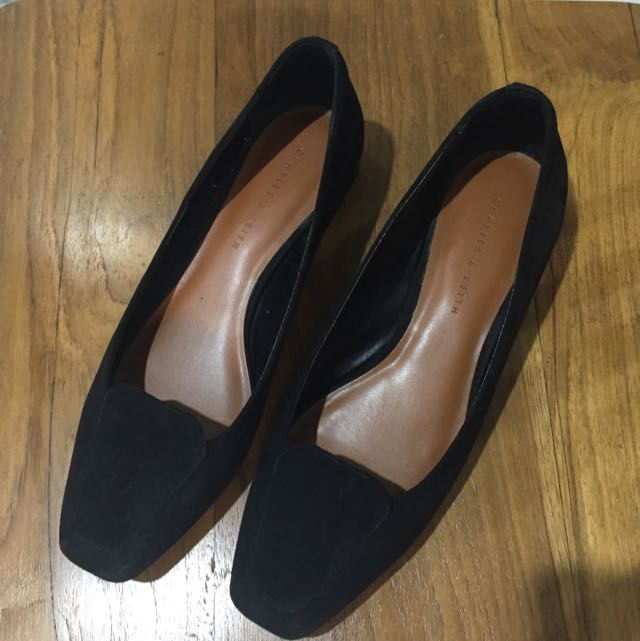 Charles and Keith Black Flat