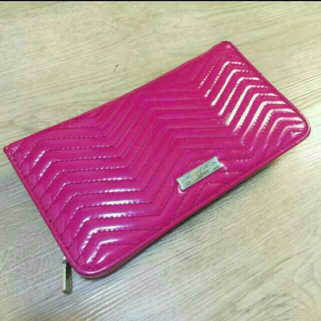 Repriced!!!Charles And Keith Pink Wallet