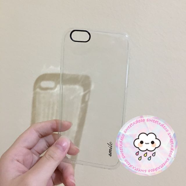 Clear Iphone 6/6S Case 💦