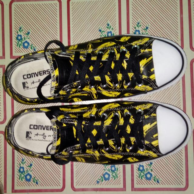 CONVERSE CT by ANDY WARHOL