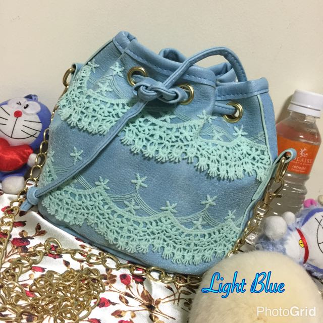 Cute Lace Bucket Bag