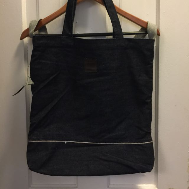 Dark Denim Tote