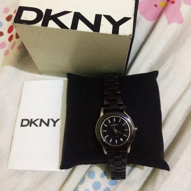 DKNY Watch Women Black