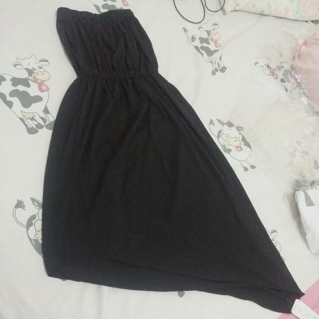 Dress Hitam Kembem