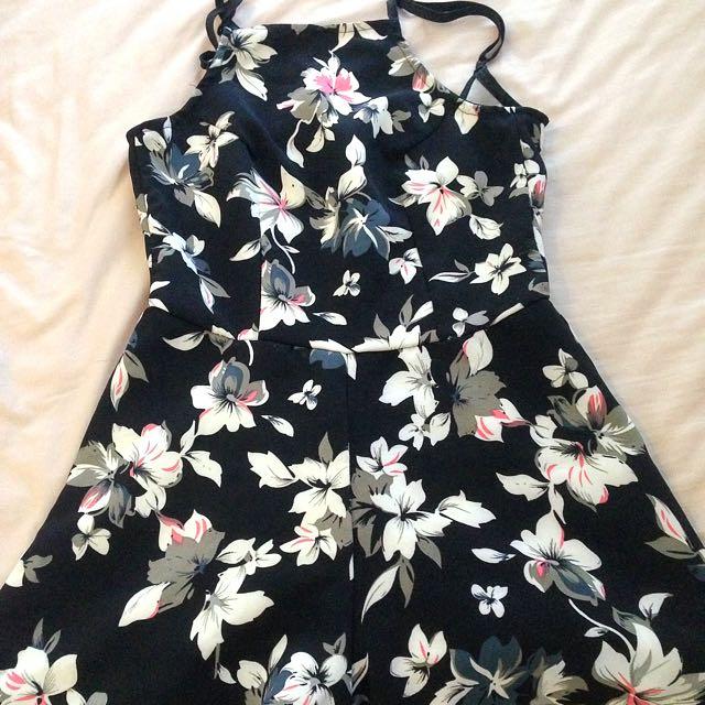 Floral Jumpsuit XS