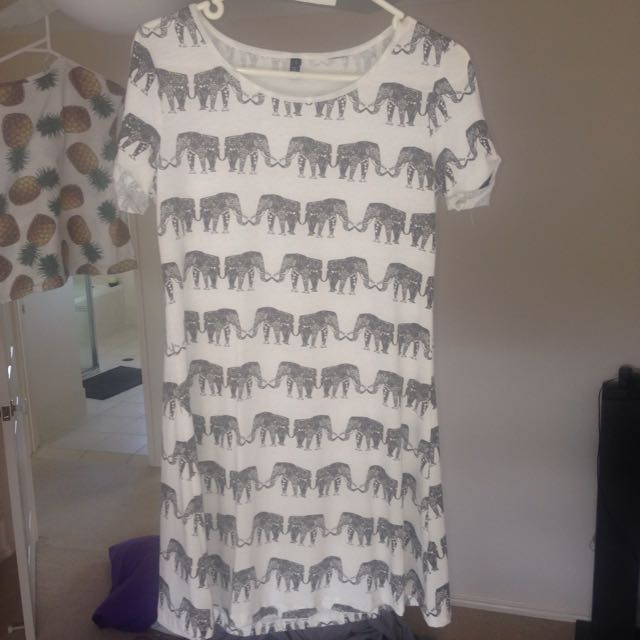 Haoduoyi Print Dress