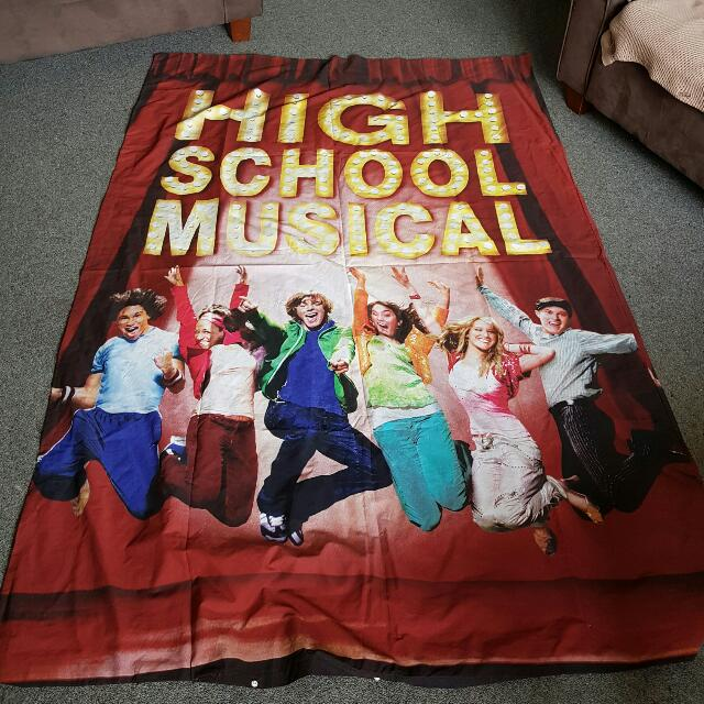 High school Musical Duvet Cover