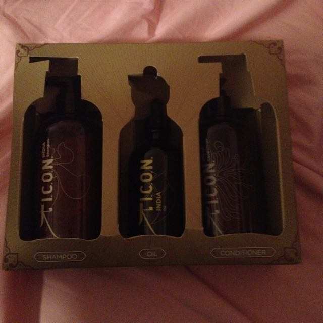 I.C.O.N India Shampoo, Conditioner & Oil