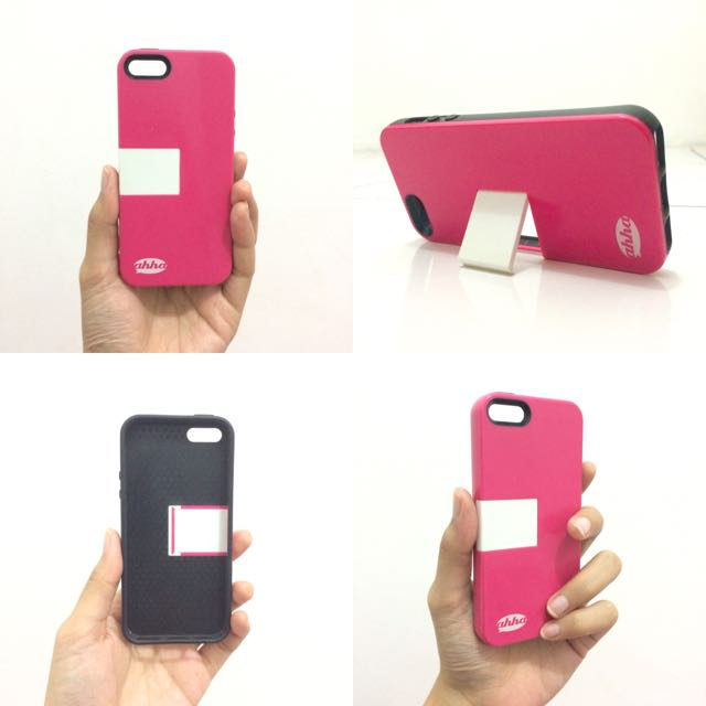 Iphone 5/5s Case Ahha Archer Kickstand in Fuschia