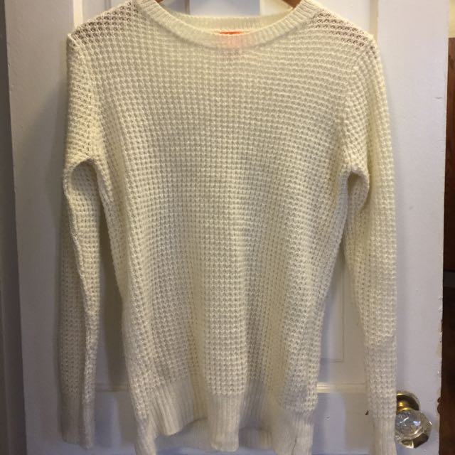 Joe Fresh Cream Knit Sweater