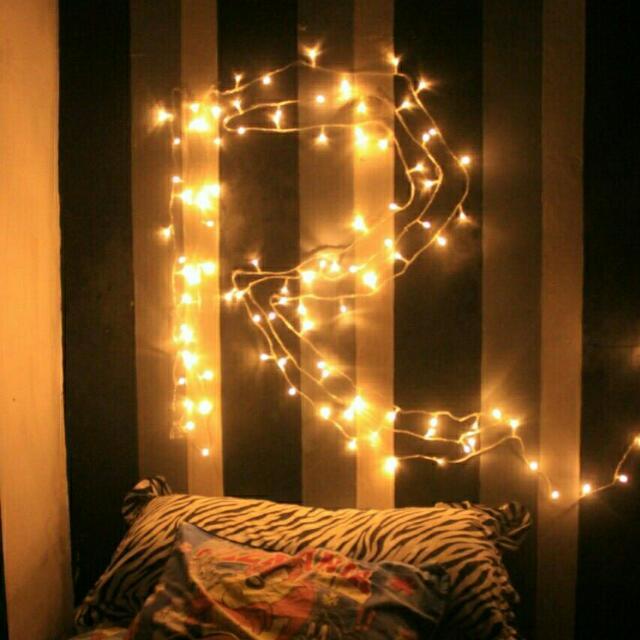 Desain Kamar Tidur Lampu Tumblr lampu hias lampu natal lampu tumblr lampu tidur kado