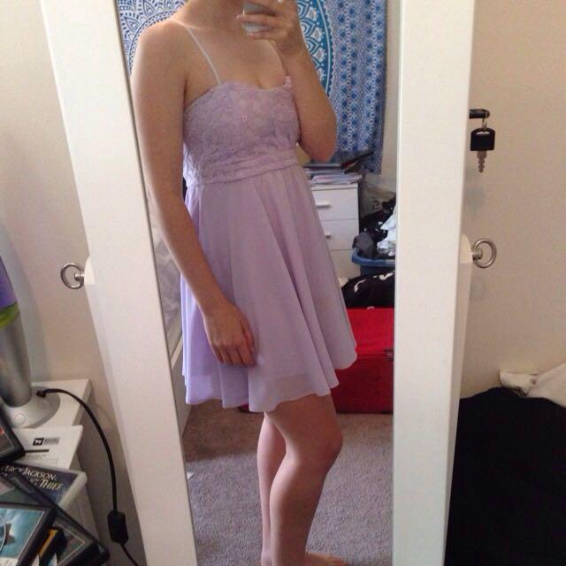 Lavender Ally Dress Size 8