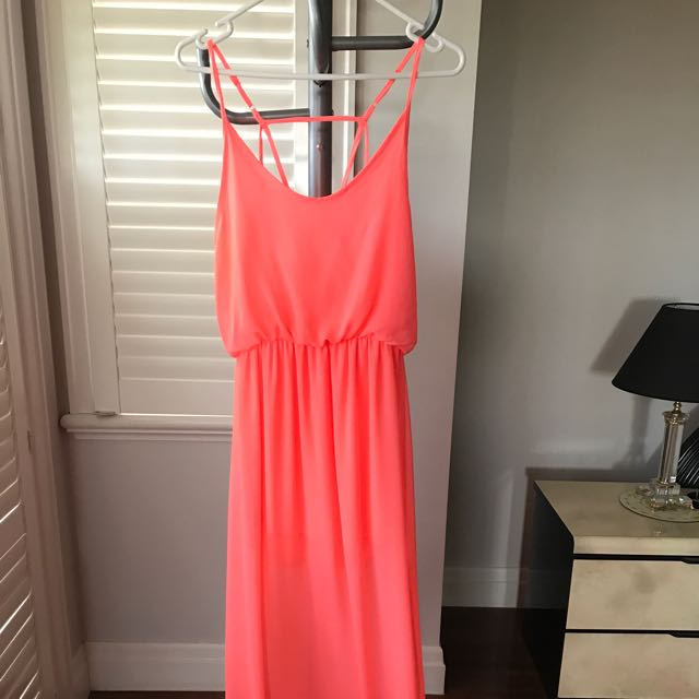 Lucy In The Sky Pink Maxi Dress