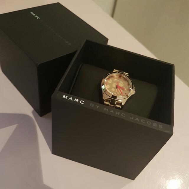 Marc Jacobs Rose Gold Watch MBM3268