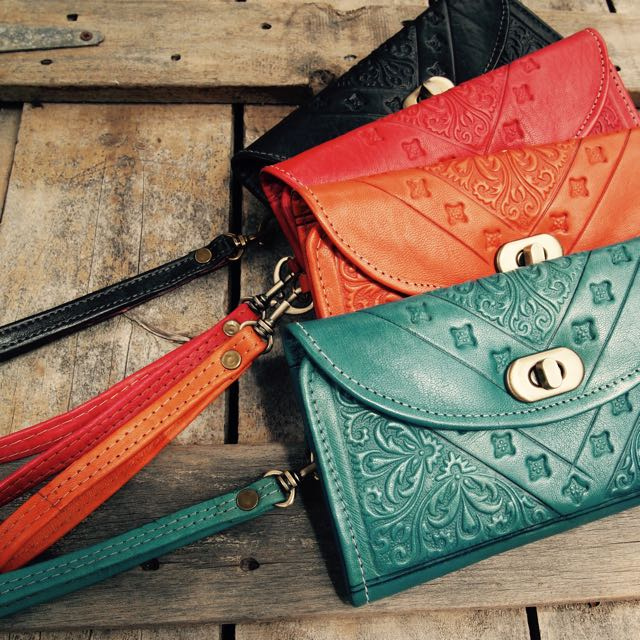 Moroccan Leather Bohemian Wallet