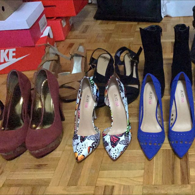 Moving sale. Pre-loved shoes. Some of them not used.