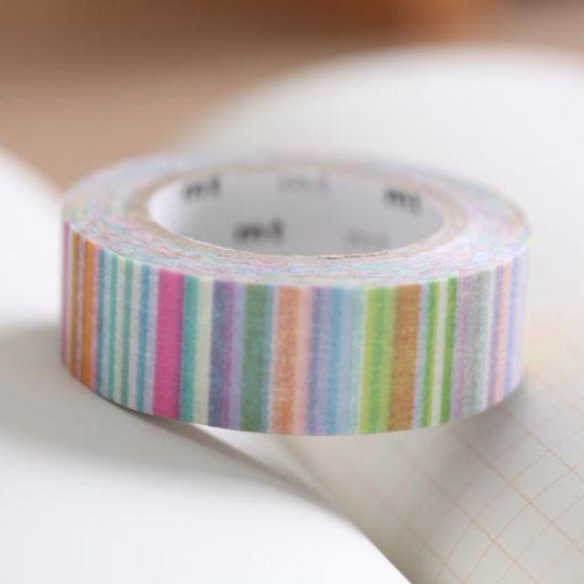 mt 線條多重奏 (柔和) 紙膠帶 分裝