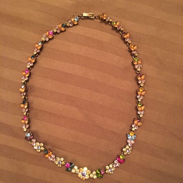 Multicolour Jewel Necklace