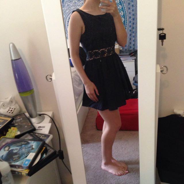 Navy Summer Dress Size M