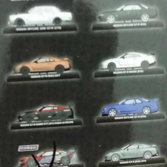 Nissan GTR模型車一組