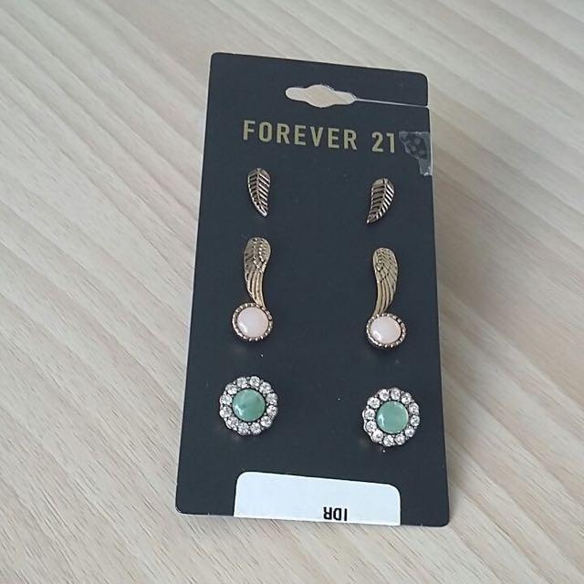 ORI Forever 21 Vintage Earing 4 Pcs